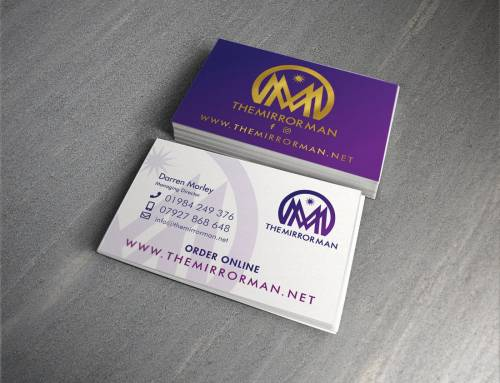 The Mirror Man Business Cards
